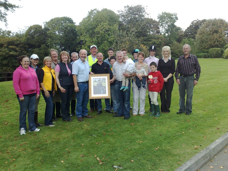 presentation-to-brendan-and-fiona-downey-from-the-warrenpoint-district-riding-club